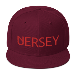 Jersey Red Snapback