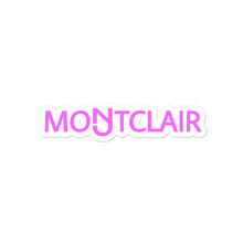 Load image into Gallery viewer, Montclair Pink Sticker