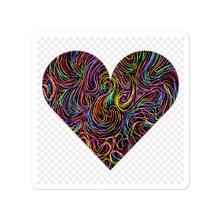 Load image into Gallery viewer, Because it all started with a doodle HEART stickers