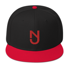Load image into Gallery viewer, NJ Snapback Red Logo