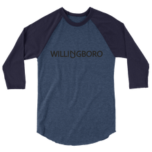 Load image into Gallery viewer, Willingboro 3/4 Sleeve Raglan Shirt