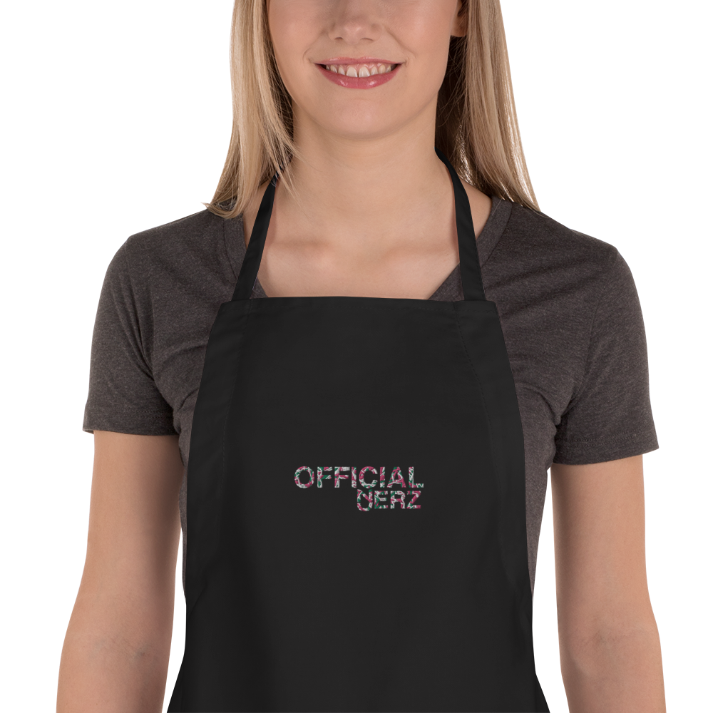 Official Jerz Embroidered Apron