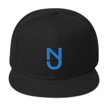 Load image into Gallery viewer, NJ Aqua Blue Snapback