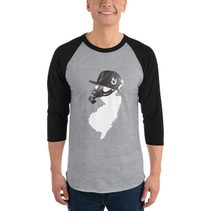 NJ Mask 3/4 Sleeve Raglan Shirt