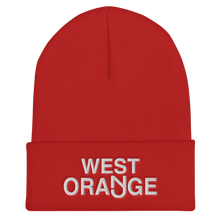 Load image into Gallery viewer, West Orange Cuffed Beanie