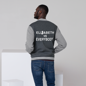 Elizabeth vs Everybody Men's Letterman Jacket