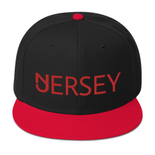 Load image into Gallery viewer, Jersey Red Snapback