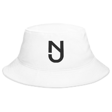 Load image into Gallery viewer, NJ Bucket Hat Black Logo