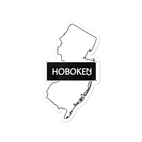 Hoboken State Sticker