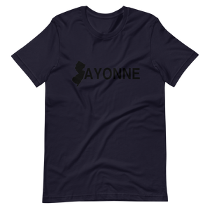 Bayonne Short-Sleeve T-Shirt Black Print