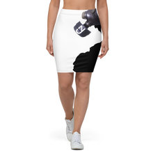 Load image into Gallery viewer, Mask Pencil Skirt