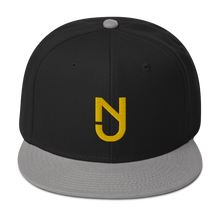 Load image into Gallery viewer, NJ Yellow Snapback