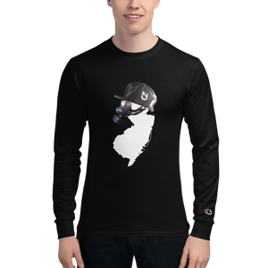 NJ Mask Men's Champion Long Sleeve Shirt