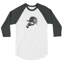 Load image into Gallery viewer, NJ Mask 3/4 Sleeve Raglan Shirt