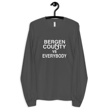 Load image into Gallery viewer, Bergen County vs Everybody Long Sleeve T-shirt