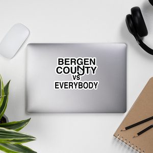 Bergen County vs Everybody Sticker