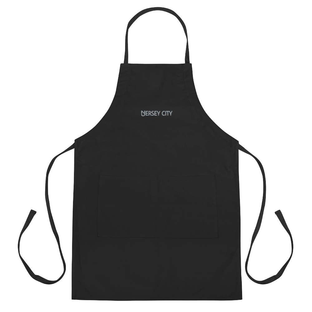 Jersey City Embroidered Apron