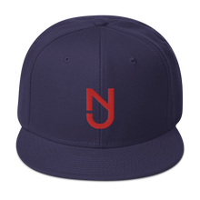 Load image into Gallery viewer, NJ Red Snapback