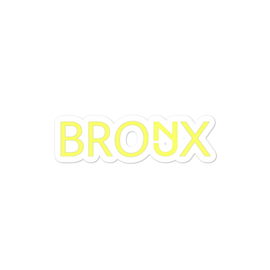NJ Bronx Sticker