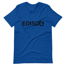 Load image into Gallery viewer, Edison Short-Sleeve T-Shirt Black Print