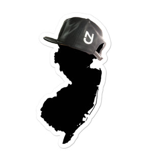 NJ Hat Stickers
