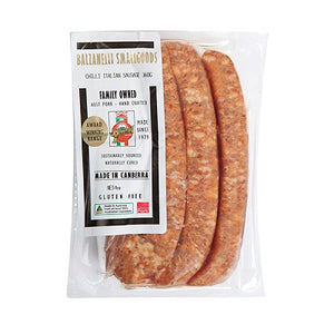 Balzanelli Italian Sausages 360g - Canberra Home Delivery