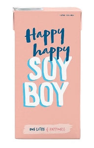 Happy Happy Soy Boy Soy Milk 1L
