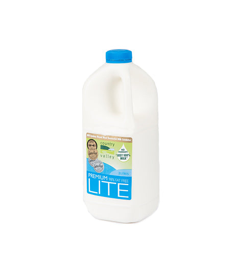 Country Valley Milk - Lite - Canberra Home Delivery