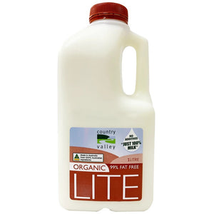 Country Valley Milk - Organic Lite - Canberra Home Delivery