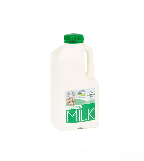 Country Valley Milk - Organic Full Cream - Canberra Home Delivery