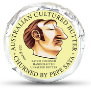 Pepe Saya Unsalted Butter 225g - Canberra Home Delivery