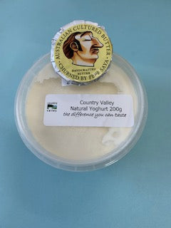 Free Sample of Country Valley Yoghurt and Pepe Saya Butter - Canberra Home Delivery