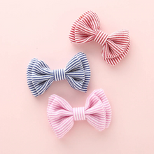 Load image into Gallery viewer, Mini Striped Pigtail Set