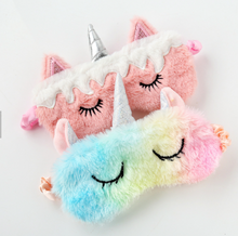 Load image into Gallery viewer, Unicorn Sleep Mask (4 Styles)