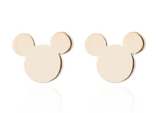 Load image into Gallery viewer, Stainless Steel Mouse Ears Earrings (4 colors)