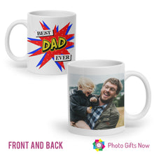 Load image into Gallery viewer, Personalised Father's Day Mug || Custom Cup