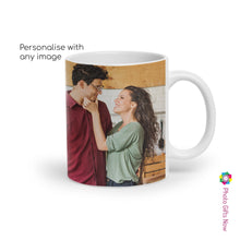 Load image into Gallery viewer, Personalised Valentines Day Mugs | For Her | 11oz Mug | Your Image Design Gift Present|