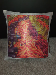 Glitter Effect Cushion || Holographic || Own Photo || Design