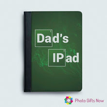 Load image into Gallery viewer, iPad Faux Leather Flip Case || 9.7 || 10.5 || 12.9 PRO || iPad 4 mini
