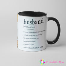 Load image into Gallery viewer, Personalised Valentines Day Mugs | For Him | 11oz Mug | Your Image Design Gift Present|