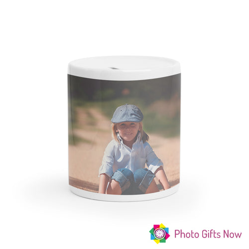 Personalised Money Box || Tip Jar || Your Image || Design