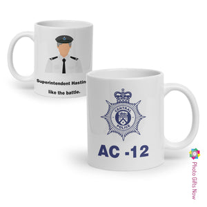 AC-12 Line of Duty Inspired Mug || Tea, Coffee Cup || Ted Hastings