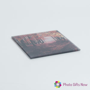 Glass Coaster || Own Photo || Design