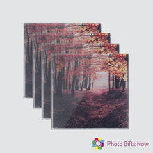 Load image into Gallery viewer, Glass Coaster || Own Photo || Design