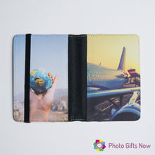 Load image into Gallery viewer, Personalised Passport Cover || Your Design || Photo