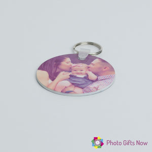 Photo keyring || Double-sided || Square || Round || Your photo
