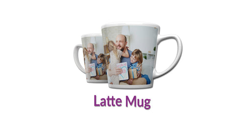 Personalised 12oz Latte Mug || Your Image || Design