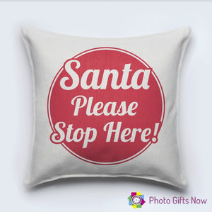 Christmas Luxury Soft Linen Cushion || With Or Without Insert.