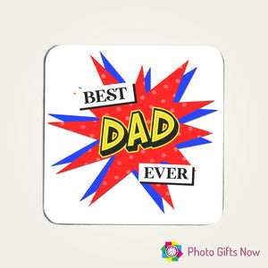FATHER'S DAY || Personalised Hardboard Coasters || Coffee & Tea