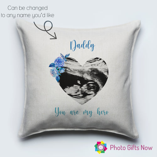 Linen Cushion || Scan Picture || First Time Parents ||